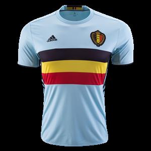 Camiseta Belgium Segunda Equipacion 2016
