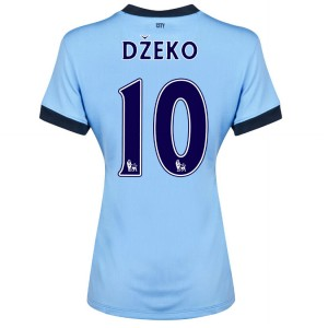 Camiseta Manchester City Dzeko Tercera 2014/2015