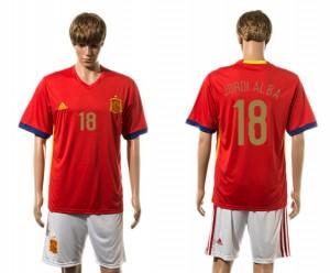 Camiseta nueva del España 2015-2016 18#