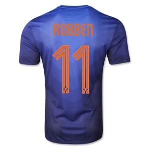 Camiseta nueva Holanda de la Seleccion Robben Segunda WC2014