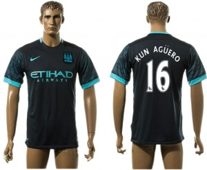 Camiseta nueva Manchester City 16# aaa version Away