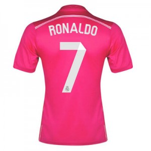 Camiseta Real Madrid Ronaldo Segunda Equipacion 2014/2015