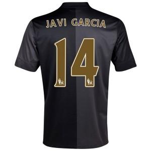 Camiseta nueva Manchester City Javi Garcia Segunda 2013/2014