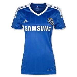 Camiseta de Chelsea 2013/2014 Primera Equipacion Mujer