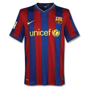 Camiseta del Barcelona Tailandia 2009/2010