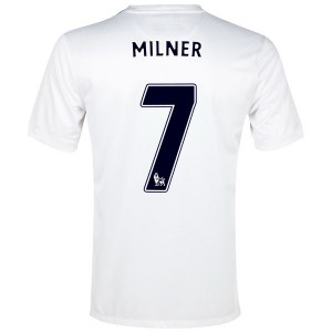Camiseta nueva del Manchester City 2013/2014 Milner Tercera