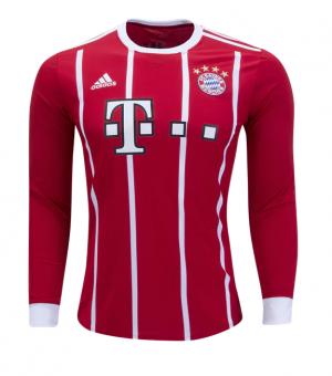 Camiseta de Bayern Munich 2017/2018 Mangas largas Juventud