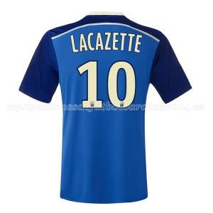 Camiseta nueva Lyon Lacazette Segunda 2014/2015