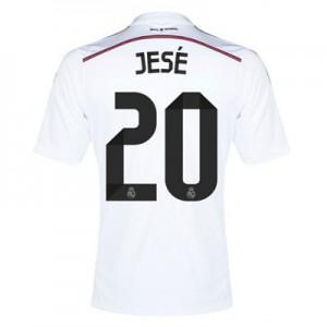 Camiseta del JESE Real Madrid Primera Equipacion 2014/2015
