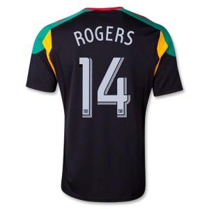 Camiseta nueva del Los Angeles Galaxy 13/14 Rogers Tercera