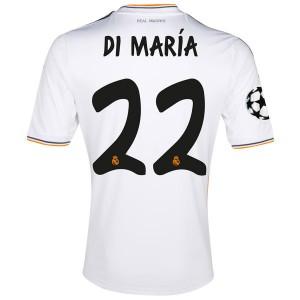 Camiseta nueva Real Madrid Di Maria Equipacion Primera 2013/2014