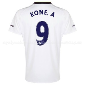 Camiseta nueva del Everton 2014-2015 Kone.A 3a