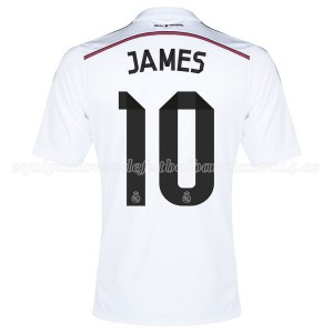 Camiseta nueva del Real Madrid 2014/2015 Equipacion James Primera