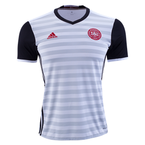 Camiseta nueva Dinamarca de la Seleccion Segunda 2015