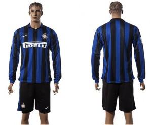 Camiseta nueva del Inter milan 2015/2016 Manga Larga
