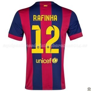 Camiseta nueva del Barcelona 2014/2015 Rafinha Primera