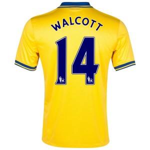 Camiseta del Walcott Inglaterra de la Seleccion Segunda 2013/2014