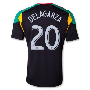 Camiseta Los Angeles Galaxy Delagarza Tercera 13/14