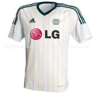 Camiseta nueva del Bayer 04 Leverkusen 2014/2015 Equipacion Tercera