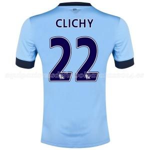 Camiseta Manchester City Clichy Primera 2014/2015