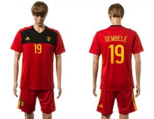 Camiseta Belgium 19# 2015-2016