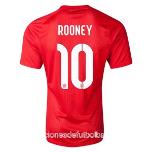 Camiseta Inglaterra de la Seleccion Rooney Segunda WC2014