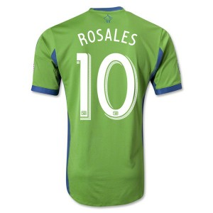 Camiseta de Seattle Sound 2013/2014 Primera Rosales Tailandia