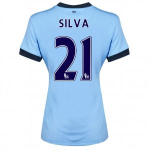 Camiseta nueva Manchester City Fernandinho Tercera 2014/2015