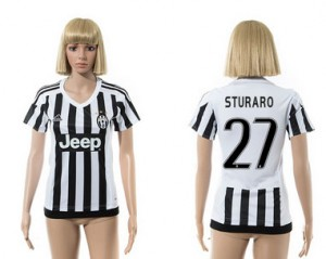 Camiseta nueva Juventus Mujer 27 2015/2016