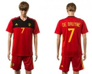 Camiseta nueva del Belgium 2015-2016 7#