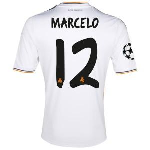 Camiseta de Real Madrid 2013/2014 Primera Marcelo Equipacion