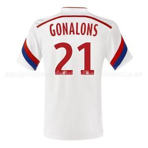 Camiseta del Gonalons Lyon Primera 2014/2015