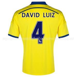 Camiseta nueva Chelsea David Luiz Equipacion Segunda 2014/2015