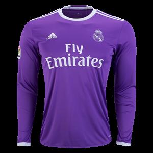 Camiseta del Real Madrid Segunda Equipacion 2016/2017