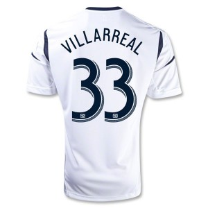 Camiseta del Villarreal Los Angeles Galaxy Primera 2013/2014