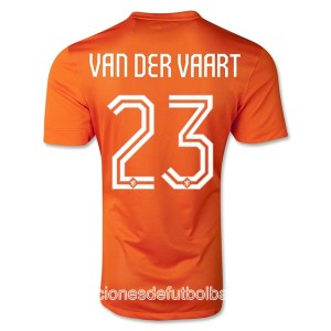 Camiseta Holanda Van Der Vaart Primera WC2014