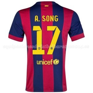Camiseta Barcelona A.Song Primera 2014/2015