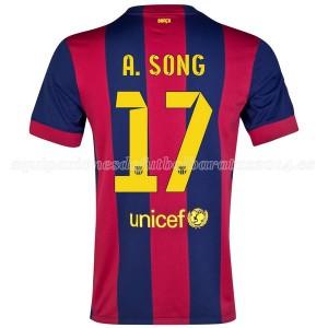 Camiseta Barcelona A.Song Primera 2014/2015
