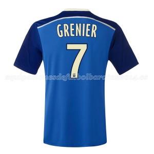 Camiseta del Grenier Lyon Segunda 2014/2015
