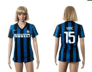 Camiseta de Inter Milan 2015/2016 15 Mujer