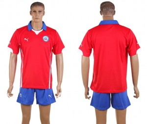 Camiseta de Chile de la Seleccion Primera