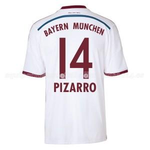 Camiseta de Bayern Munich 2014/2015 Segunda Pizarro Equipacion