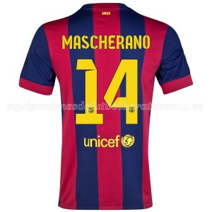 Camiseta nueva del Barcelona 2014/2015 Mascherano Primera