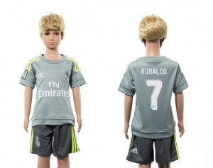 Camiseta de Real Madrid 2015/2016 Away 7 Niños