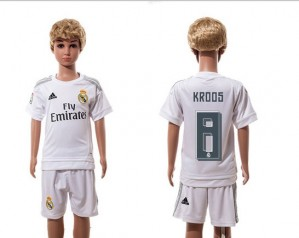 Camiseta de Real Madrid 2015/2016 Home 8 Niños