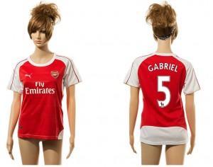 Camiseta nueva del Arsenal 5# Mujer aaa version Home