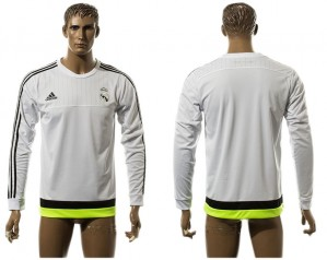 Training Top nueva Real Madrid Blanco Europe Long Sleeve