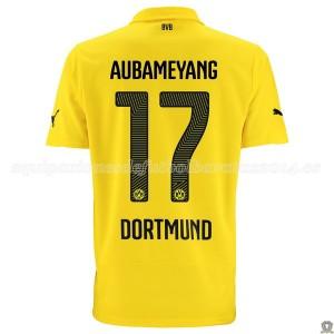 Camiseta del Aubameyang Borussia Dortmund Tercera 14/15