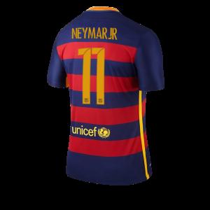 Camiseta Barcelona Numero 11 NEYMAR Primera Equipacion 2015/2016