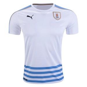 Camiseta nueva del Uruguay 2016 Away